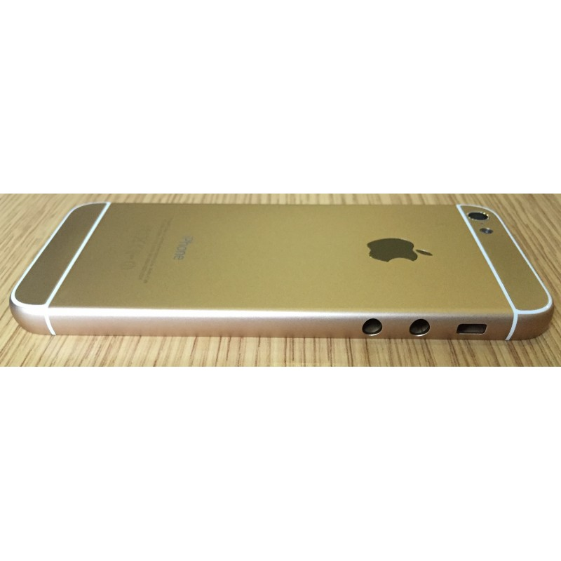 Корпус iPhone 5 в стиле iPhone 6 Gold