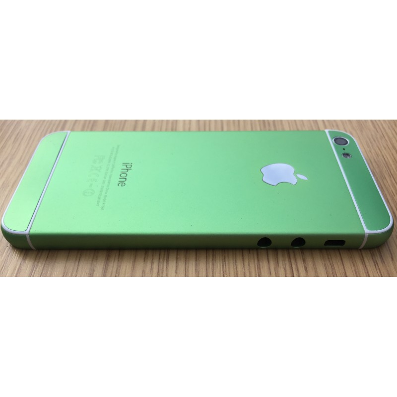 Корпус iPhone 5 в стиле iPhone 6 Green