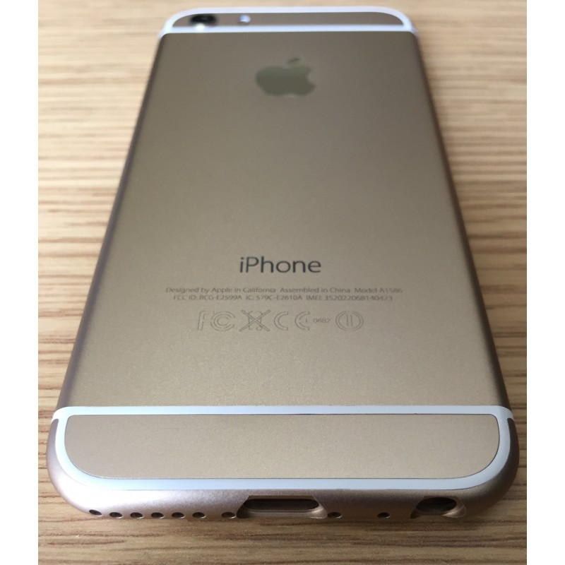 Корпус iPhone 5 в стиле iPhone 6 Gold Обновленный