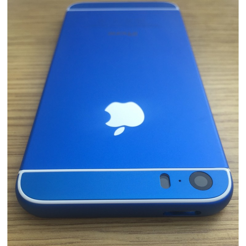 Корпус iPhone 5s в стиле iPhone 6 Blue