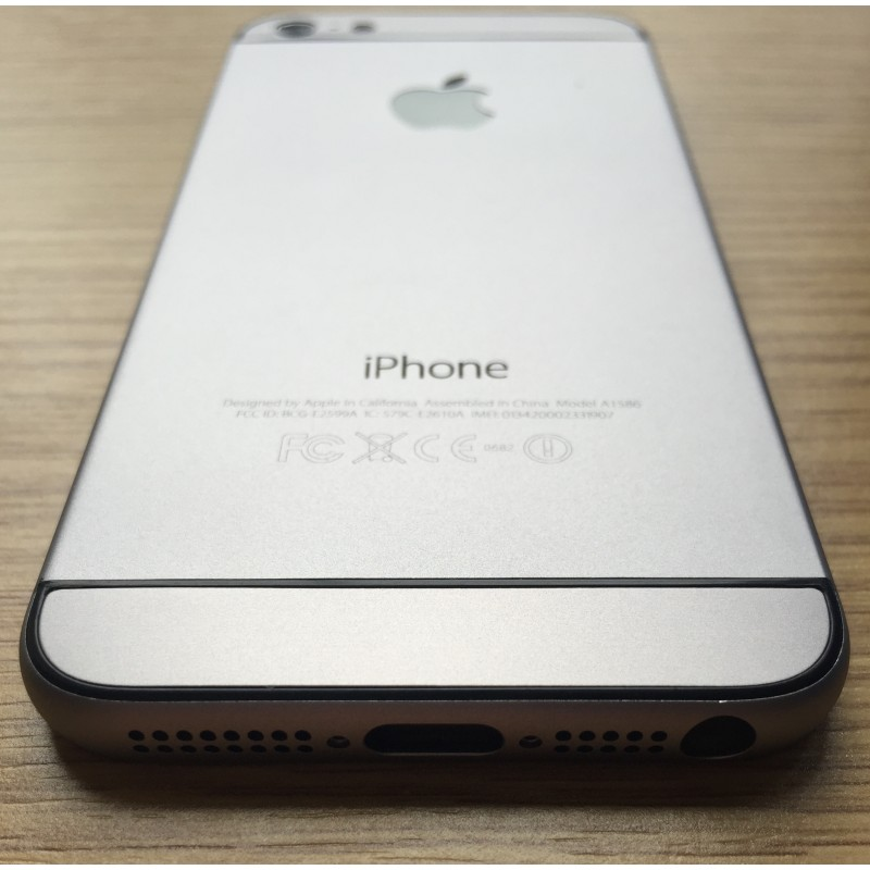 Корпус iPhone 5s в стиле iPhone 6 Space Gray